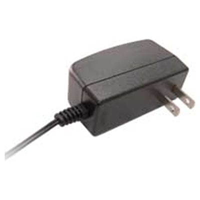 US Type Power Adapter ( 100~240VAC, 12VDC/1A), 2 Flat Pins