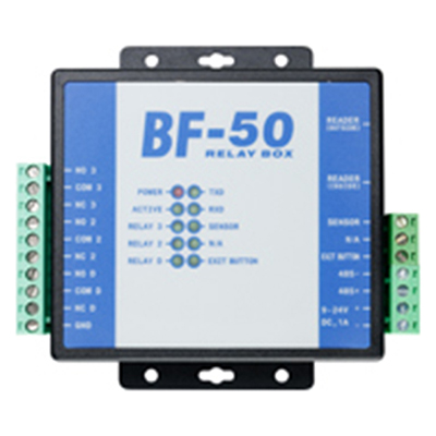 BF-50 - Secure I/O Relay Box with Wiegand & Serial