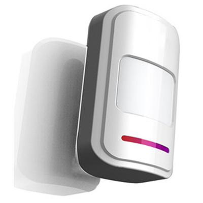 Wireless PIR detector w/ built-in antenna