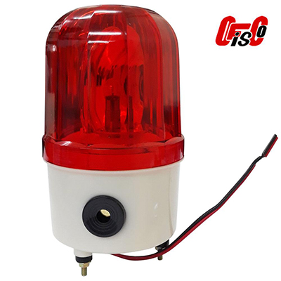 Ideal Binking Rotary Signal Lamp LTE-1105 DC-12V 10W